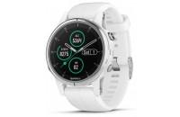 Смарт-часы Garmin Fenix 5S Plus Sapphire White with White Band (010-01987-01)
