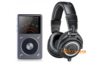Купить - FiiO X5 II + Audio-Technica ATH-M50x