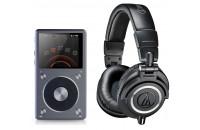 МР3 плееры FiiO X5 II + Audio-Technica ATH-M50x