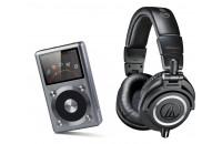 МР3 плееры FiiO X3 II + Audio-Technica ATH-M50x