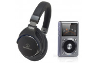 МР3 плееры FiiO X3 II + Audio-Technica ATH-MSR7