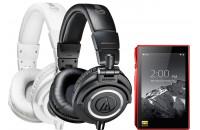 Аудиоплееры FiiO X5 III + Audio-Technica ATH-M50x