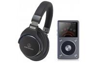 МР3 плееры FiiO X5 II + Audio-Technica ATH-MSR7