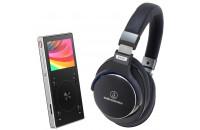 Аудиоплееры FiiO X3 III + Audio-Technica ATH-MSR7