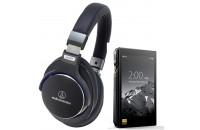Аудиоплееры FiiO X5 III + Audio-Technica ATH-MSR7