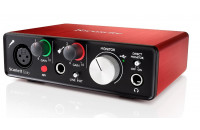 Звуковые карты Focusrite Scarlett Solo New