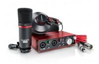 Аудиоинтерфейсы Focusrite Scarlett 2i2 Studio New