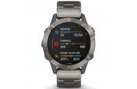 Смарт-часы Garmin Fenix 6 Pro Sapphire Titanium with Vented Titanium Bracelet (010-02158-23)
