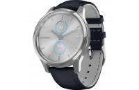 Смарт-часы Garmin Vivomove Luxe Silver-Blue Leather (010-02241-20)
