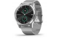 Смарт-часы Garmin Vivomove Luxe Premium Silver-Black Milanese (010-02241-23)
