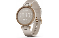Смарт-часы Garmin Lily Rose Gold Bezel with Light Sand Case and Silicone Band (010-02384-11)