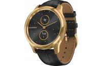 Смарт-часы Garmin Vivomove Luxe Pure Gold-Black Leather (010-02241-22)