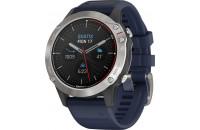 Смарт-часы Garmin Quatix 6 Gray with Captain Blue Band (010-02158-91)