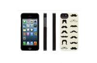 Аксессуары для мобильных телефонов Griffin iPhone 5/5S/SE Mustachio Case Black/Ecu (GB35945)