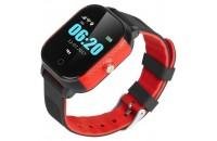 Смарт-часы GOGPS K23 Black/Red (K23BKRD)