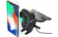 Аксессуары для мобильных телефонов iOttie Easy One Touch 4 Qi Wireless Charging CD Mount (HLCRIO136AM)