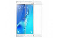 Аксессуары для мобильных телефонов HONOR Samsung J530 (J5-2017) Glass 3D Screen Protector White