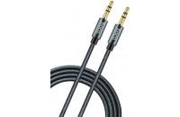 Кабели аудио-видео Hoco AUX 1m Noble Grey (UPA-03)