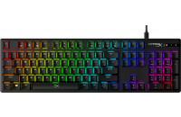 HyperX Alloy Origins Aqua USB RGB US Black (HX-KB6AQX-US)