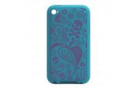 Ozaki iPod Touch 4G iCoat Silicone Blue (IC872BL)