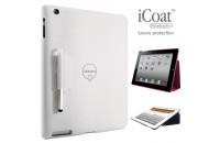 Ozaki New iPad iCoat Notebook+ White (IC509WH)