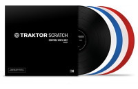 Native Instruments TRAKTOR SCRATCH Control Vinyl MK2 White
