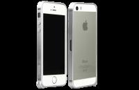 Аксессуары для мобильных телефонов iBacks iPhone 5/5S/SE Aluminum Bumper Essence Series Silver (IP50207)