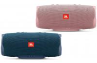 Акустика JBL Charge 4 Blue + JBL Charge 4 Dusty Pink