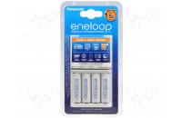 Зарядные устройства Panasonic Smart-Quick Charger+Eneloop 4AA 1900 mAh NI-MH (K-KJ55MCC40E)