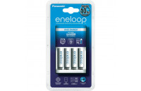 Зарядные устройства Panasonic Basic Charger New + Eneloop 4AAA 750 mAh NI-MH (K-KJ51MCC04E)