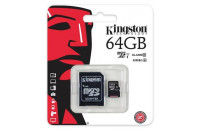 Kingston microSDXC 64GB Class 10 UHS-I (SDC10G2/64GB)