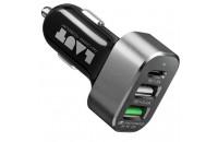 Кабели, зарядные уст-ва, аккумуляторы Laut QUINT-X2 USB Charger Black (LAUT_QX2_UK_BK)