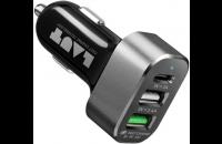 Кабели и зарядные уст-ва Laut USB Car Charger Power Dash (LAUT_PD05_BK)