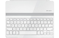 Клавиатуры Logitech Wireless Keyboard Ultrathin Cover for iPad BT White (920-004931)