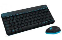 Клавиатуры Logitech Wireless Combo MK240 Black (920-005790)
