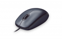 Компьютерные мыши Logitech Corded Mouse M90 Dark (910-001794)