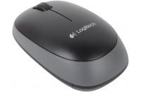Компьютерные мыши Logitech Wireless Mouse M165 Black (910-004110)