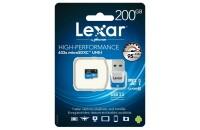 Карты памяти и кардридеры Lexar 200GB Micro SDXC 633x UHS-I C10 High-Performance + USB3.0-адаптер (LSDMI200BBEU633R)