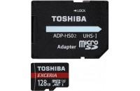 Карты памяти и кардридеры Toshiba microSD-Card 128GB M203 Exceria R90 (THN-M203K1280EA)