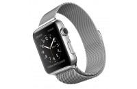 Смарт-часы Apple 42mm Stainless Steel Case with Milanese Loop (MJ3Y2)