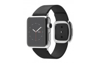 Смарт-часы Apple 38mm Stainless Steel Case with Black Modern Buckle (MJYM2)