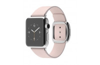 Смарт-часы Apple 38mm Stainless Steel Case with Soft Pink Modern Buckle (MJ392)