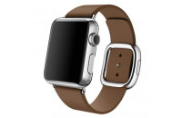 Смарт-часы Apple 38mm Stainless Steel Case with Brown Modern Buckle (MJ3A2)