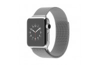 Смарт-часы Apple 38mm Stainless Steel Case with Milanese Loop (MJ322)