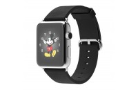Apple 42mm Stainless Steel Case with Black Classic Buckle (MJ3X2)