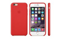 Apple iPhone 6/6S Leather Case Red (MKXX2)