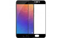 Аксессуары для мобильных телефонов PRO+ Meizu MX6 Full Screen Protection Tempered Glass Black