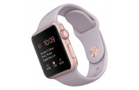Смарт-часы Apple 38mm Rose Gold Aluminum Case with Lavender Sport Band (MLCH2)