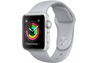 Смарт-часы Apple Watch Series 3 GPS 42mm Silver Aluminum Case with Fog Sport Band (MQL02)