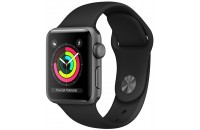 Смарт-часы Apple Watch Series 3 GPS 42mm Space Gray Aluminum Case with Gray Sport Band (MR362)